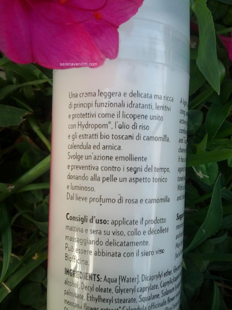 Emulsione viso Preventiva Biofficina Toscana