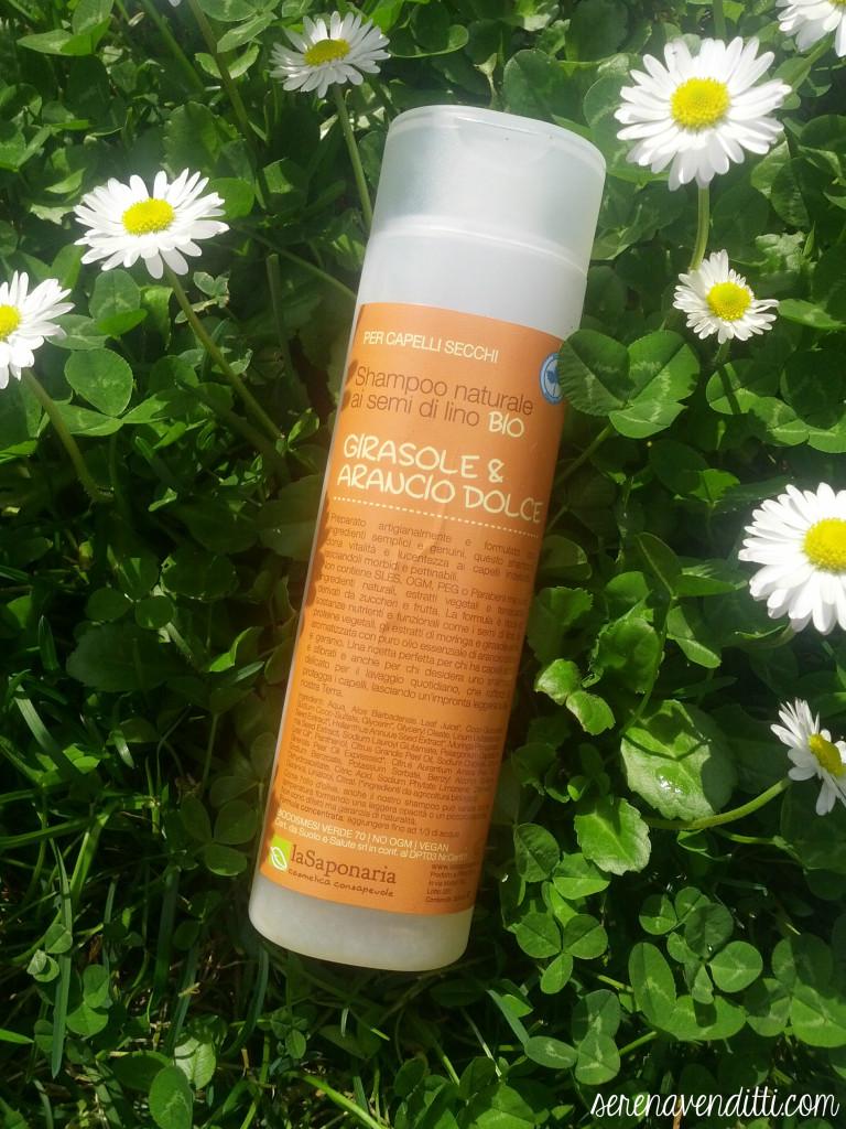 La saponaria shampoo girasole e arancio dolce