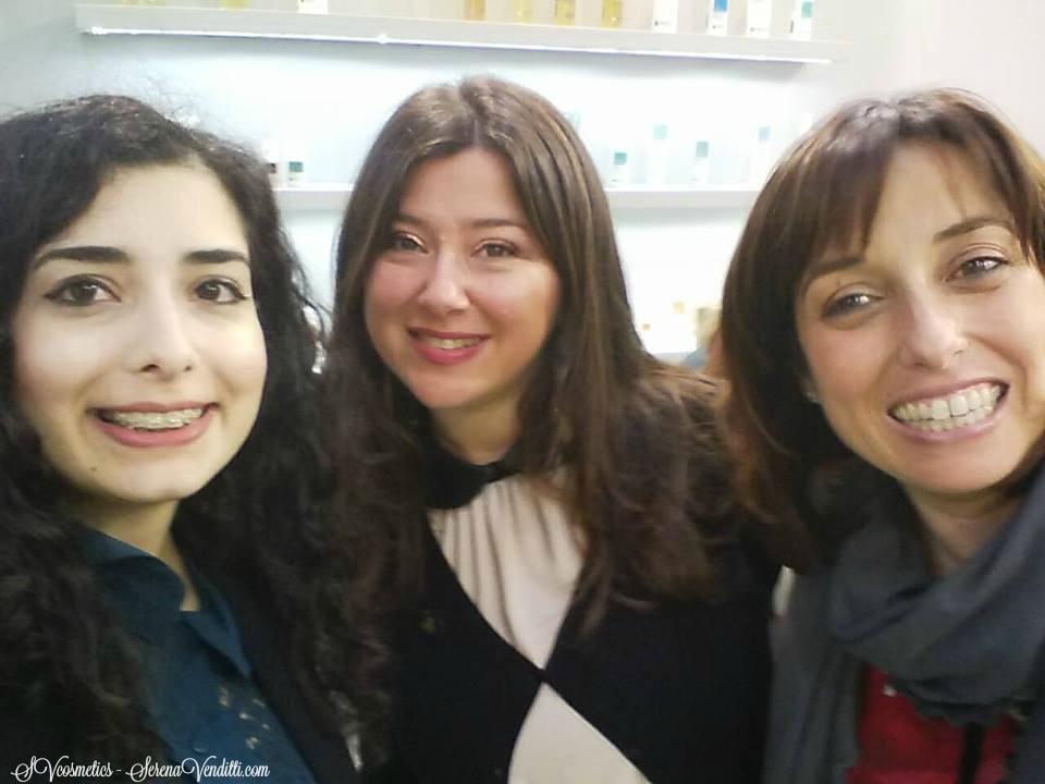 Con Claudia ed Eva di Biofficina Toscana