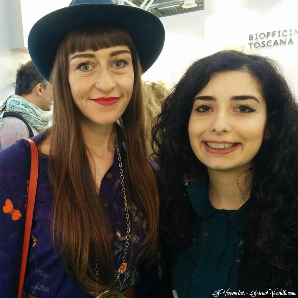 Con Valeria di Melissa Erboristeria di Torino - Cosmoprof2016