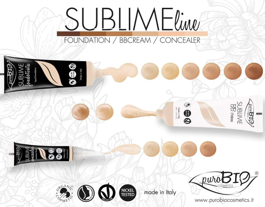 Fondotinta - BBcream - Correttori Puro Bio cosmetics