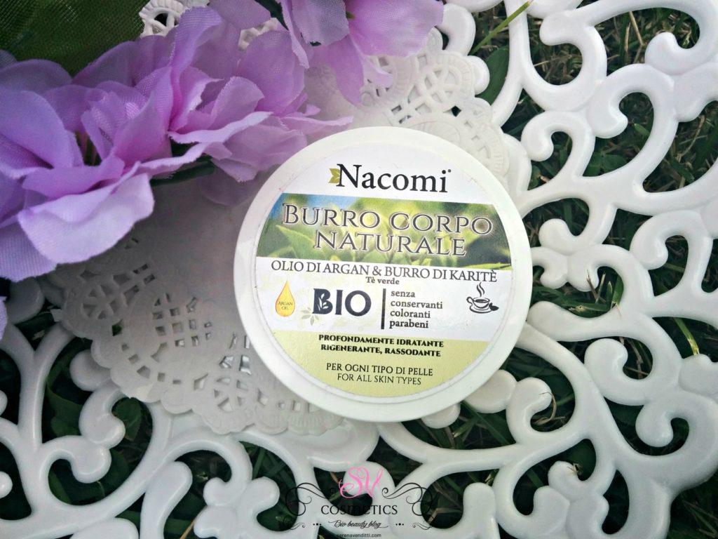 Burro Corpo Naturale - Nacomi