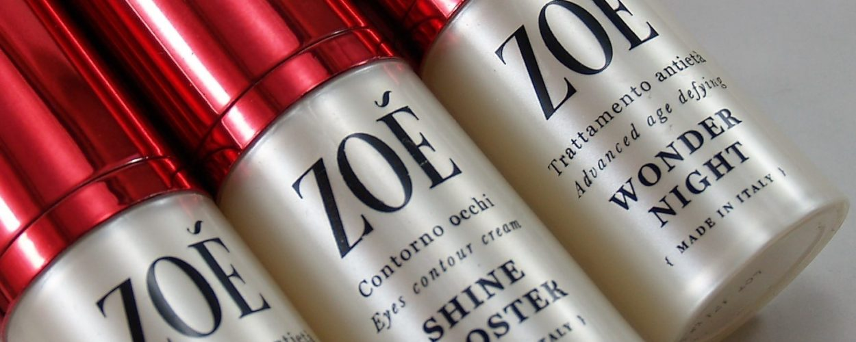 Luxury Bio Skincare Routine con Zoé Cosmetics – Recensione di SVcosmetics